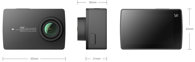 YI 4K Specs | YI Technology