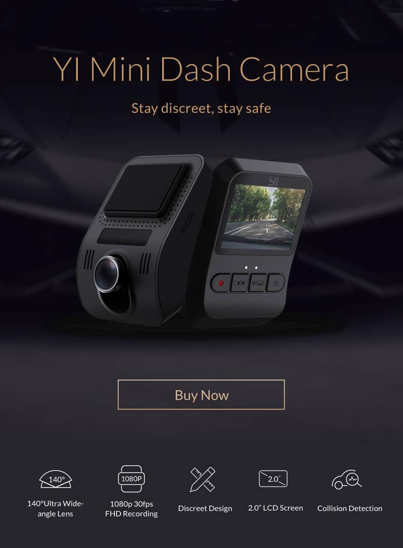 YI Mini Dash Camera | YI Technology