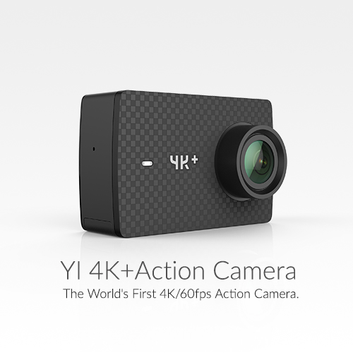 YI 4Kpluse ACTION CAMERA