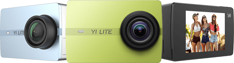 YI LITE Action Camera | YI Technology