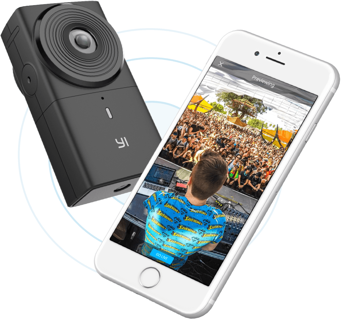 Features Vr Box Plus Remote Bluetooth Allows You To Remotely Control Your Yi 360 Camera With The Optional